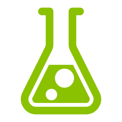 Lab beaker icon