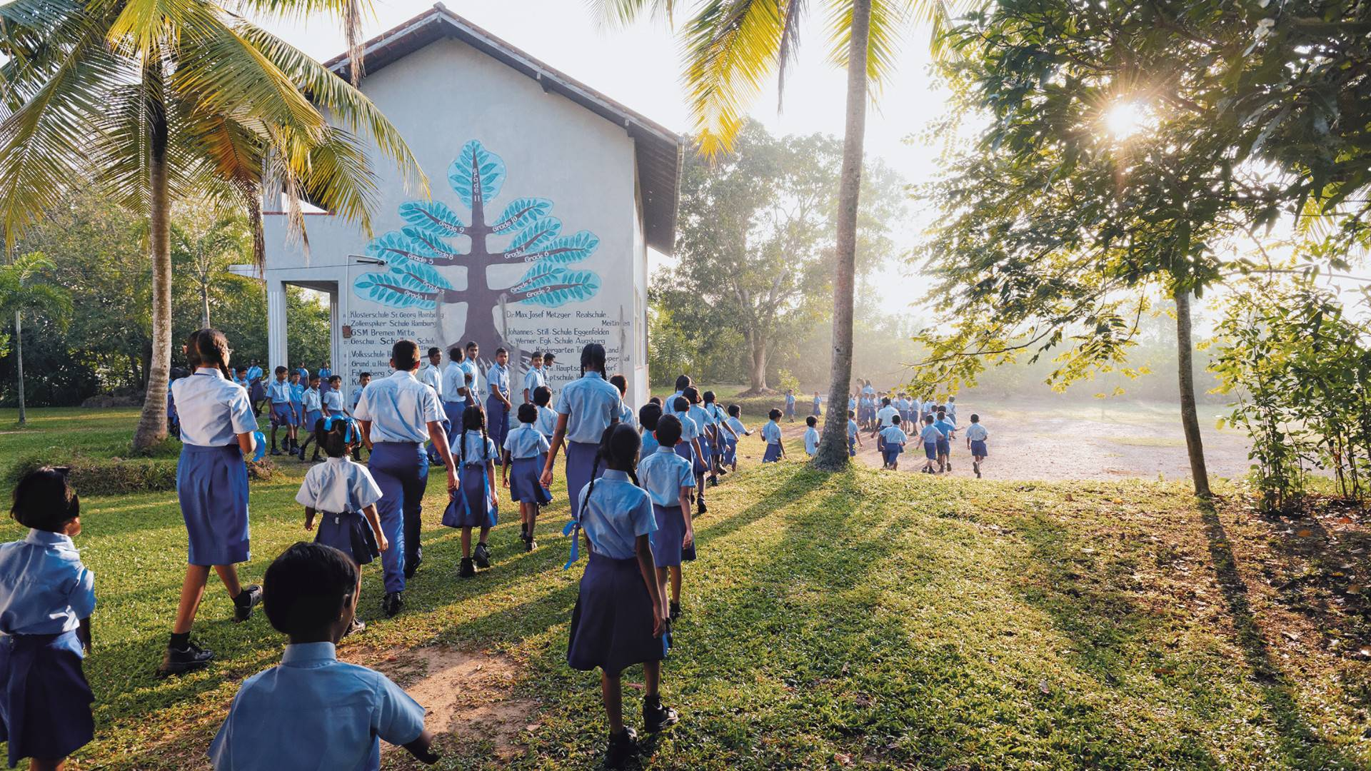 Students from WACKER Help project