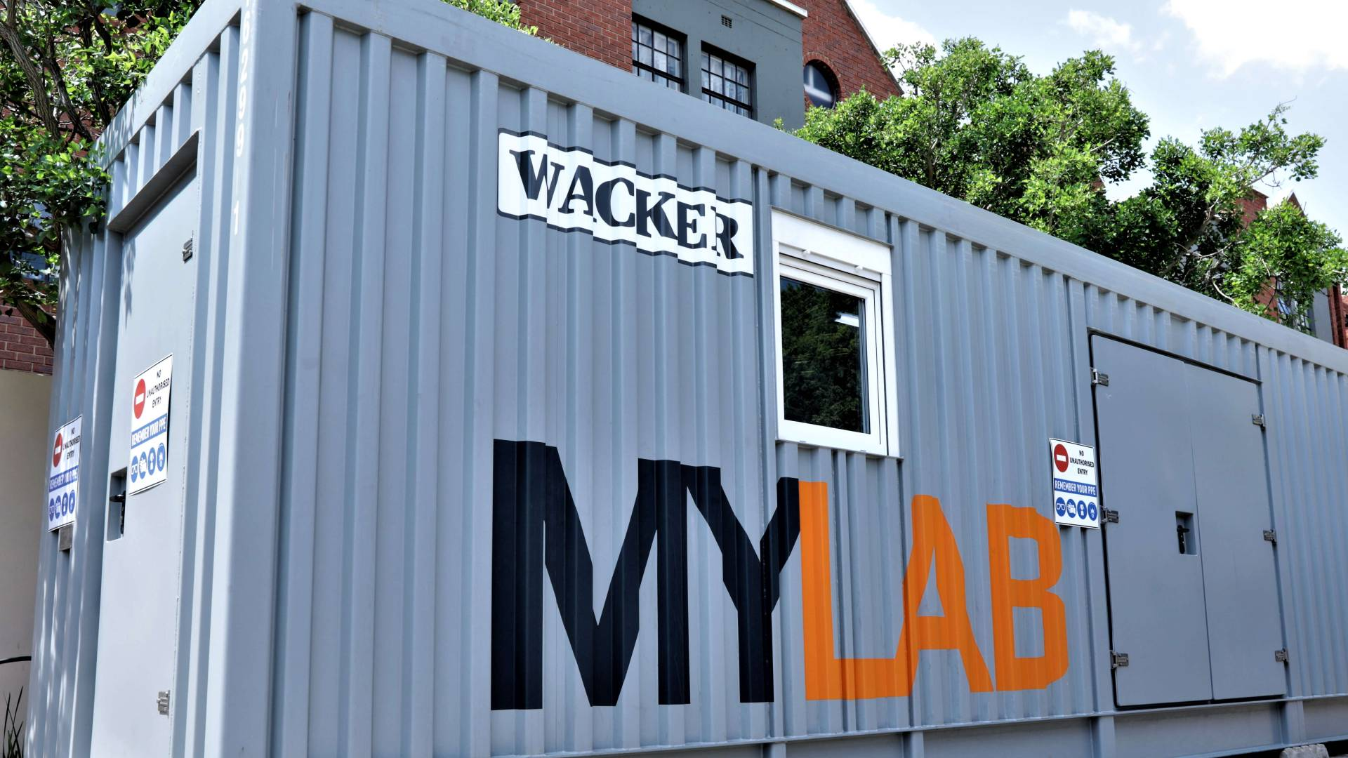 MyLab from the outside