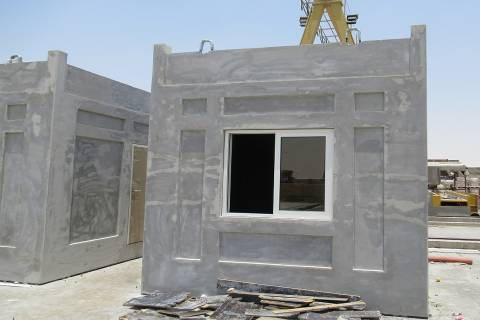 Model house Dubai under construction