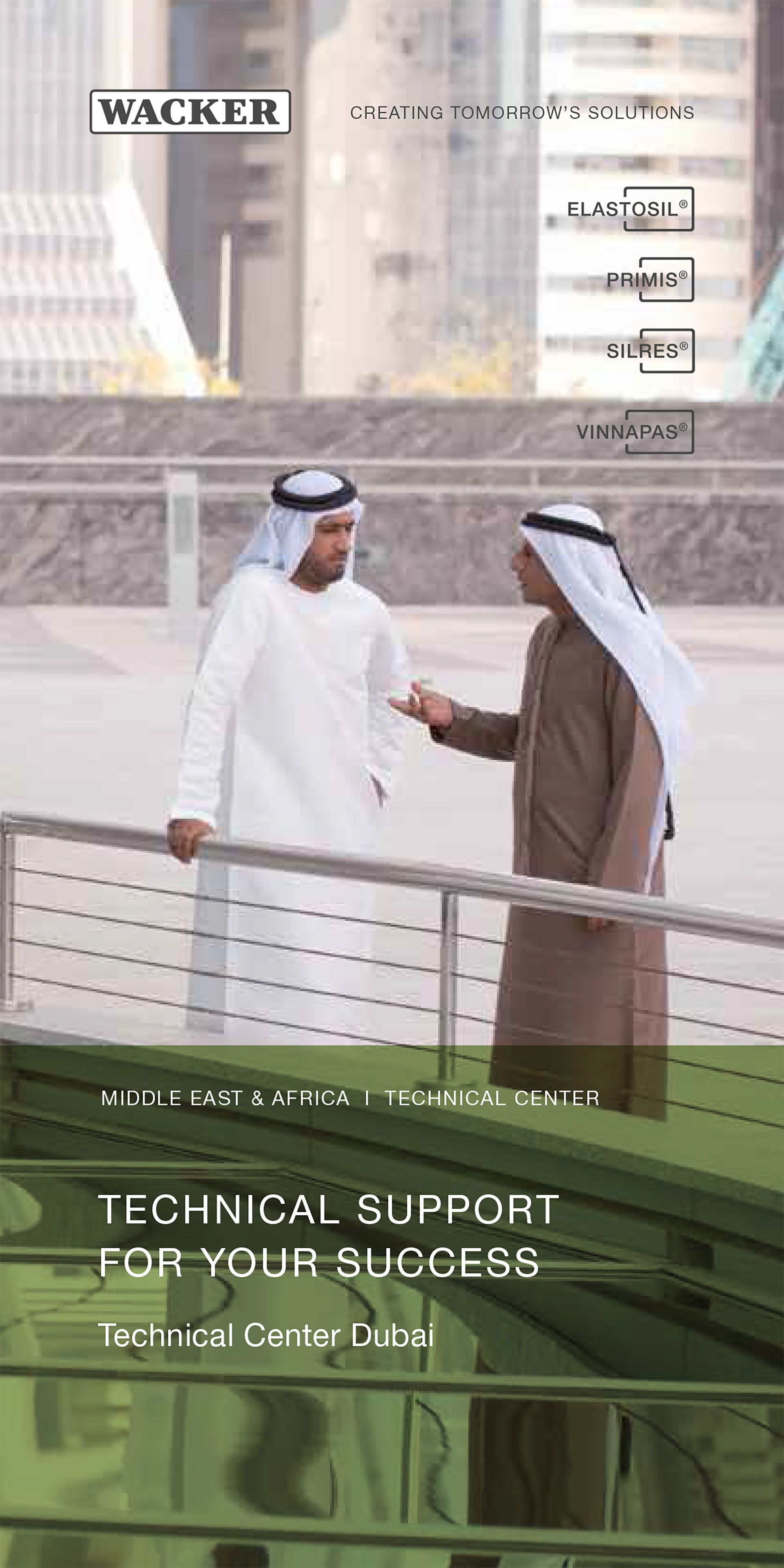 Preview Technical Center Dubai brochure