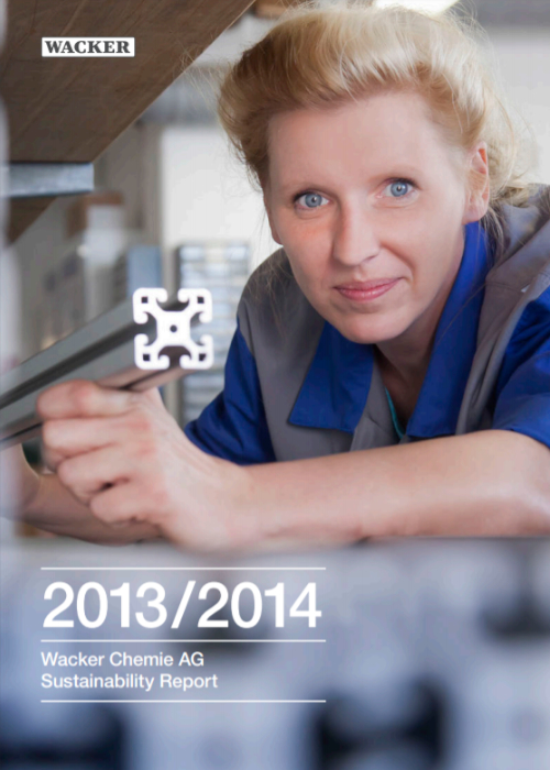 Cover of the 2013/2014 Sustainability Report