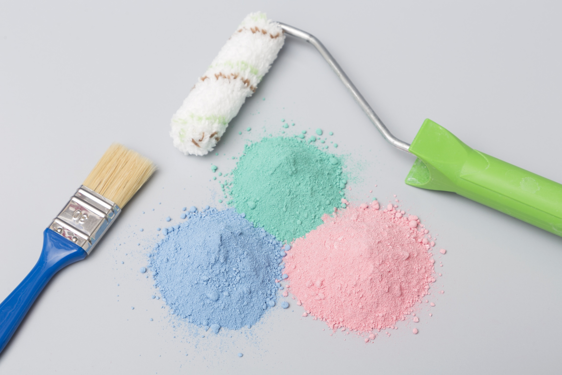 The new NEXIVA® product line can be used to make powder-form interior wall paints.